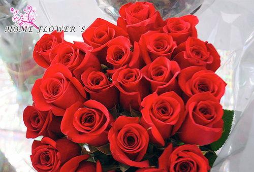 Bouquet o Caja de 12 Rosas Rojas de Exportación + Envio