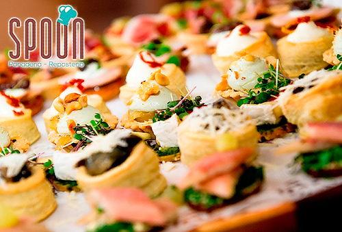 60 Pasabocas Gourmet para Eventos