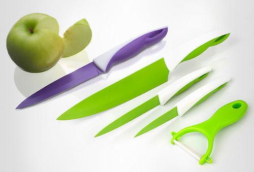 Set de Cuchillos 4 Piezas con Pelador