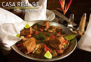 Cena Romántica para Dos en Restaurante Casa Real