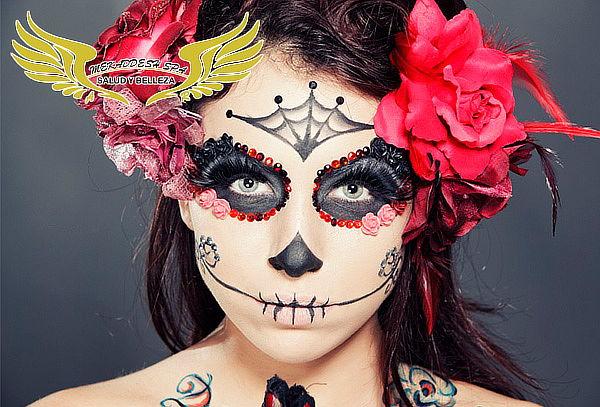 Caracterización de Catrinas o Maquillaje Halloween