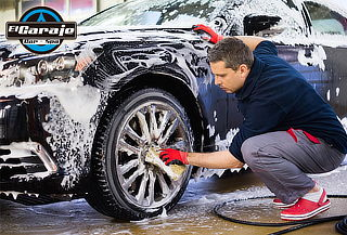 Lavada Full del Auto Interior, Exterior y Cojinería