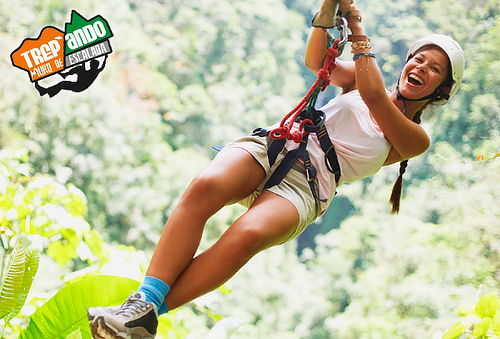 Canopy Extremo + Escalada + Puente Tibetano + Trekking