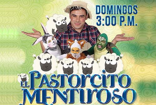 """Entrada a Obra infantil """"El Pastorcito Mentiroso"""""""