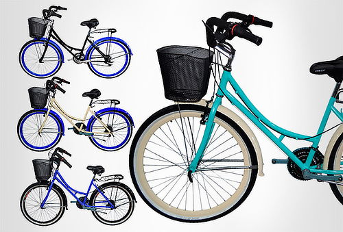 Bicicleta Playera Rin 26 d/pared Tipo Moto