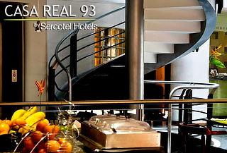 DesayunoTipo Buffet en Casa Real