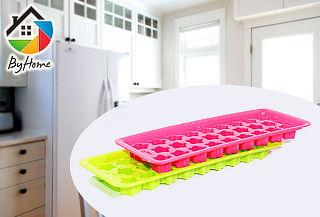 2 Cubetas Para Hielo Silicona