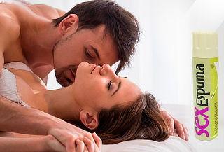 Espuma Sexual Sabores