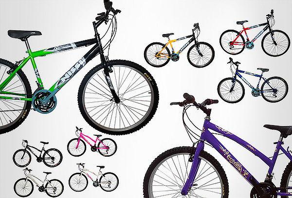 Bicicleta Todoterreno para Hombre o Mujer Rin 26 18 Cambios