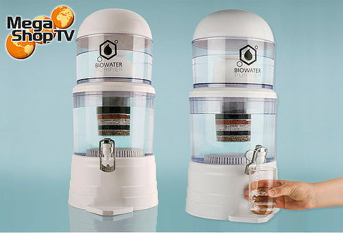 Purificador de agua Filtro bioenergético Biowater Puri 14 Lt