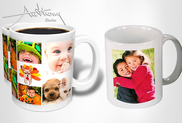 3 Mugs Personalizados + Dulces