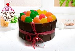 Torta de Vainilla o Chocolate + 12 Mini Cupcakes