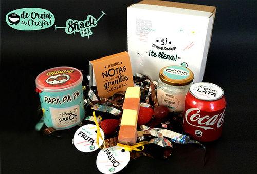 Sorpresa SnackPack Personalizada a Domicilio