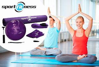 Kit para Yoga y Fitness Sport Fitness