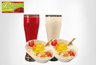 FRUTERIA PATTY: 2 Ensaladas de Frutas Sensación + 2 Jugos