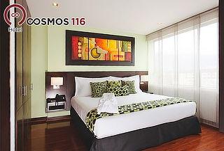 Noche Romántica en Suite + Cena y Desayuno en el Cosmos 116