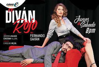 ÚLTIMA SEMANA para la Comedia El Divan Rojo