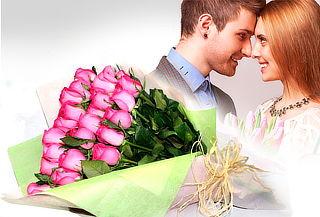2X1 Bouquets de 12 Rosas Tipo Exportación + Envio Incluído