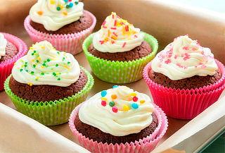 Paga 50 Mini Cupcakes y Llevas 72 Mini Cupcakes a Domicilio