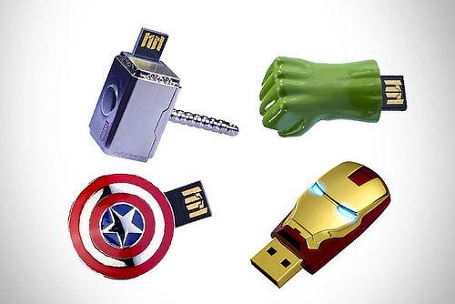 USB 8GB AVENGERS ¡Salvamos tu Información!