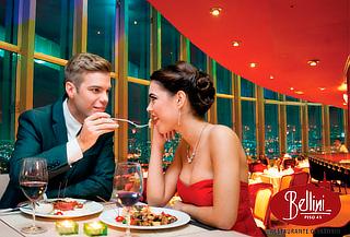 BELLINI: Restaurante Giratorio Más Grande del Mundo