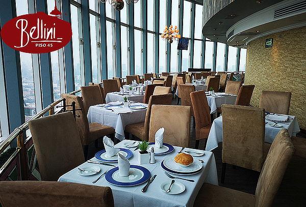 BELLINI Restaurante Giratorio Más Grande del Mundo