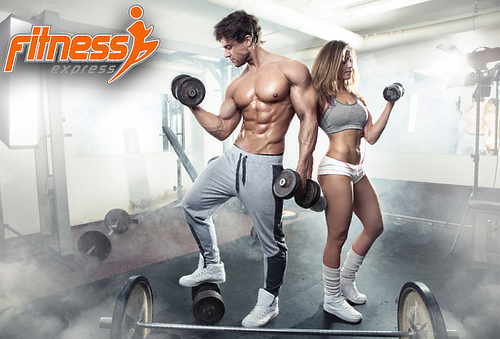 3, 6 o 12 Meses Acceso Fitness Express, 5 Sucursales