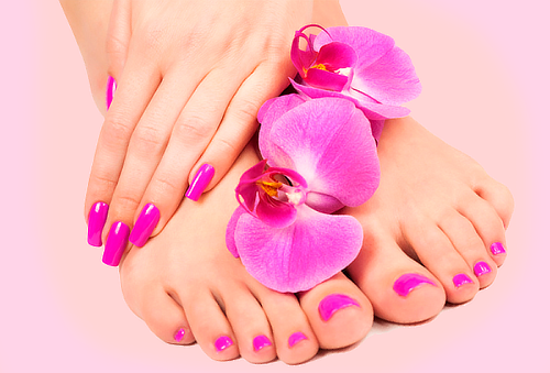 Manicure + Pedicure + Gelish en Pies 86%