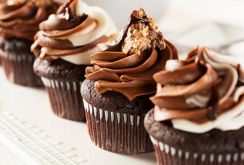 6 o 12 Cupcakes de Vainilla o Chocolate Decorados ¡mmm!