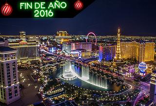 ¡Las Vegas en Fin de Año! 5Días/4Noches, incluye vuelo