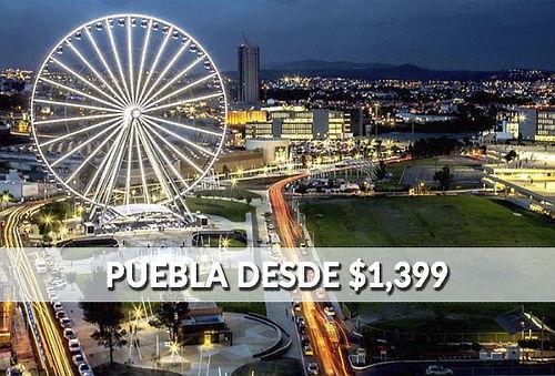 Puebla ¡Hermosos Edificios coloniales y Gastronomía de 10!