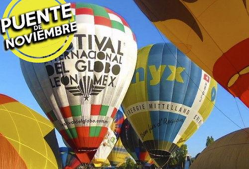 León: Festival del Globo'16, Bus + Hotel 2D/1N + Entrada
