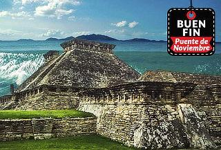 Tecolutla, Tajín y Costa Esmeralda 3D/2N con Transporte