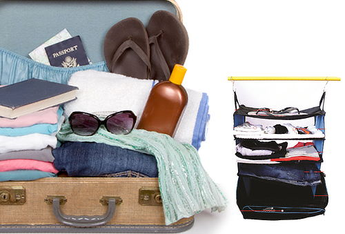 Maleta de viaje con closet CLOSMAGIC 50%