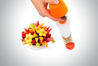 Cortador De Frutas Y Verduras En Figuras Pop Chef   33%