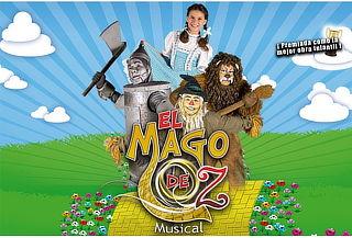 """Diviértete en el Musical """"El mago de Oz"""" 50%"""