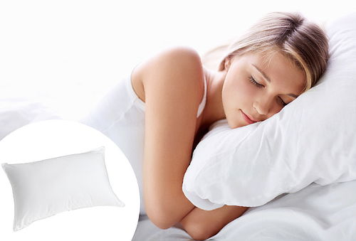 Almohada Micro Gel Azul ¡Descansa como mereces!