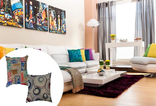 Cojin Decorativo Memory Foam ¡Decora tu hogar!