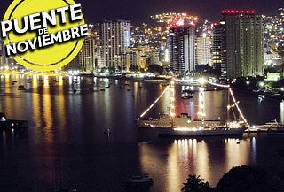 Acapulco 3D/2N c/Transporte ¡Puente! 1Cupón p/2Personas
