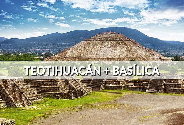 ¡Turitour Pirámides Teotihuacan! Bus+guía+alimentos.