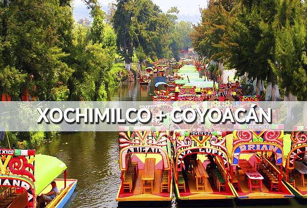 Turitour Xochimilco - Coyoacán ¡Diversión en la ciudad!