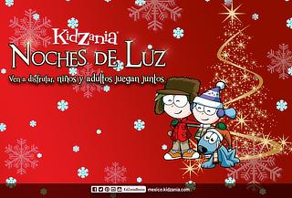 KidZania Todos Juegan en ¡NOCHES DE LUZ!