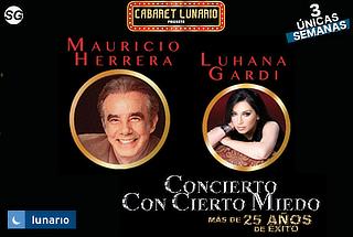 Mauricio Herrera Concierto Lunario Con Cierto Miedo + Regalo
