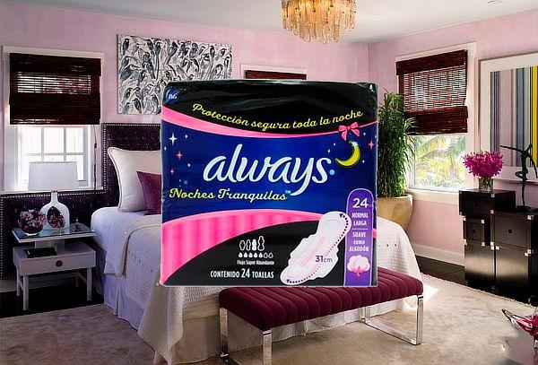 1 Paquete Always Suave Nocturna de algodón con alas
