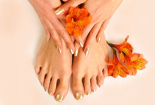 Manicure y Pedicure con gelish