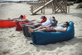 Sillón Inflable Portátil Cama Playa Camping