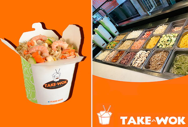 Arroz Frito + Cookie + Agua REFILL en TAKE A WOK 30%