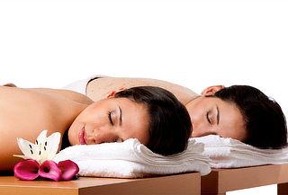 Masaje con exfoliación cuerpo completo al 2x1
