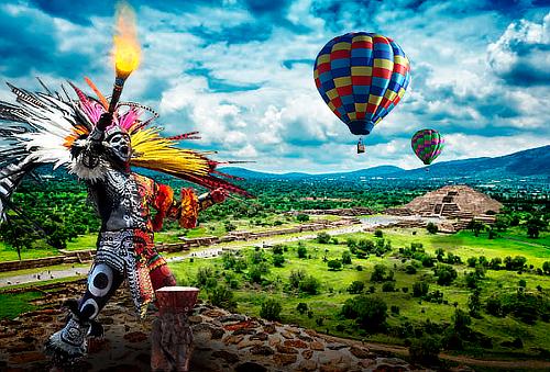 Festival del Globo en Teotihuacán: Avistamientos, Foodtrucks