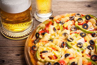 Pizza + Cerveza Artesanal para 2 ó 4